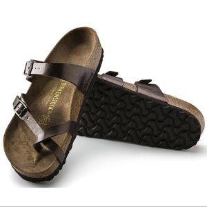 Birkenstock Mayari Metallic Sandals